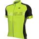 Alé Cycling Solid Block Kortärmad cykeltröja Herr gul/svart